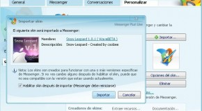 Instalación de Skins en Windows Live Messenger 2009