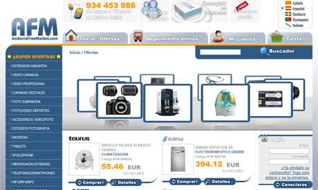 Cámaras de Fotos y Televisores de oferta por Internet